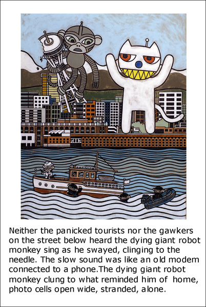 giant robot monkey