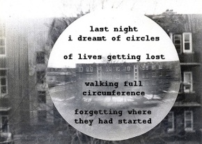 last night I dreamt of circles